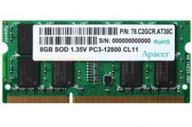 DDR3 SO-DIMM ipari RAM modulok